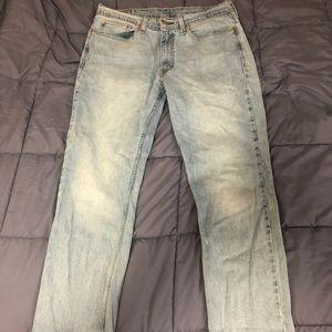 Men's 34x32 Straight Levi's Jeans